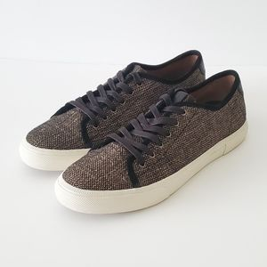 Frye Gia Canvas Low Lace US 10